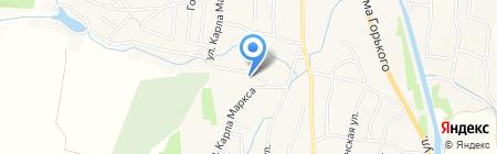 Общежитие на карте Алтайского