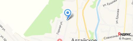 Центр занятости населения Алтайского района на карте Алтайского