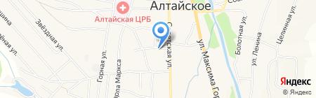 Мастерская по ремонту телевизоров на карте Алтайского