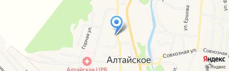Горизонт на карте Алтайского