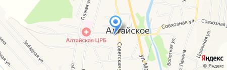 Пожарная часть №60 на карте Алтайского