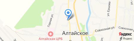 Faberlic на карте Алтайского