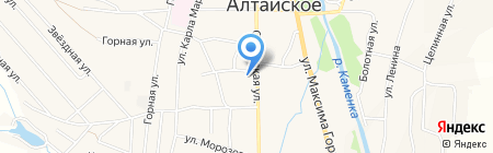 Магазин-сервис на карте Алтайского