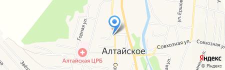 Ветеринарная аптека на карте Алтайского