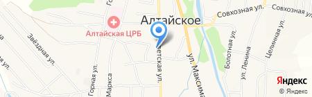 Оздоровительный центр на карте Алтайского