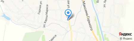 Почтовое отделение на карте Алтайского