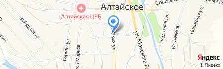 Юридическая фирма на карте Алтайского