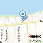 Сударушка на карте Бийска