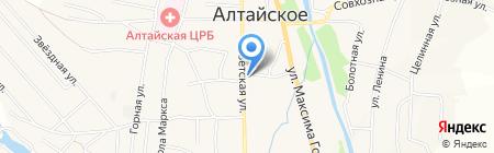 Алтайская районная межпоселенческая библиотека на карте Алтайского