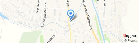 Эдельвейс на карте Алтайского