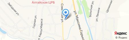 Средняя общеобразовательная школа №5 на карте Алтайского
