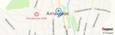 Банкомат Сбербанк России на карте Алтайского