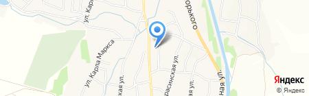 Диксис на карте Алтайского