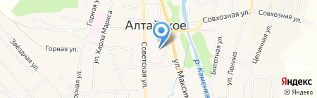 Купец на карте Алтайского