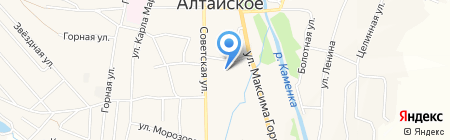 Стройматериалы на карте Алтайского