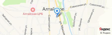 Магазин женской одежды на карте Алтайского