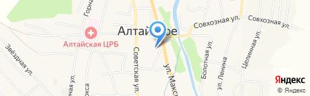 Магазин женской одежды и обуви на карте Алтайского