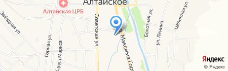 СТРОЙБЕТОН на карте Алтайского