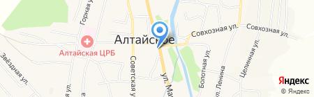 Пункт технического осмотра транспорта на карте Алтайского