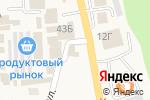 Схема проезда до компании Мастерская в Алтайском