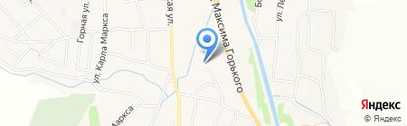Управление социальной защиты населения по Алтайскому району на карте Алтайского