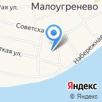 Малоугренёвская средняя общеобразовательная школа на карте Бийска