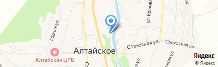 Белокурихинские МЭС на карте Алтайского