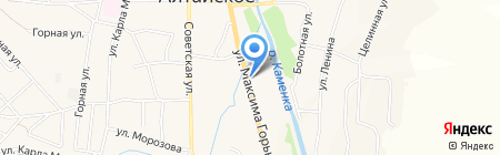 Перестройка на карте Алтайского