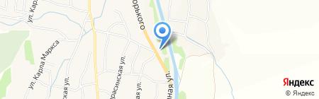АЗС Dd на карте Алтайского