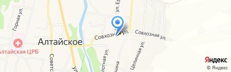 Талисман на карте Алтайского