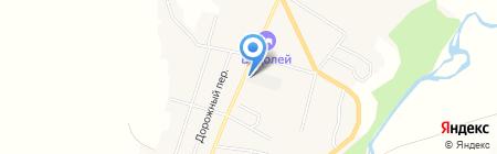 Радуга на карте Алтайского