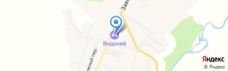 Водолей на карте Алтайского