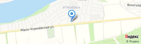 Анастасия на карте Бийска