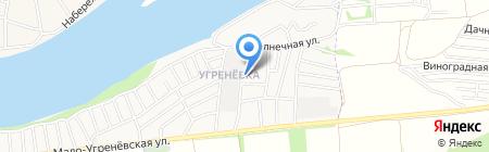 АБВГДЕ-йка на карте Бийска