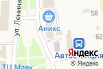 Схема проезда до компании Магазин в Советском