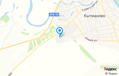 Местоположение на карте пункта техосмотра по адресу Алтайский край, с Кытманово, ул Советская, влд 81