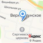 Верх-Катунская средняя общеобразовательная школа на карте Бийска