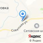 Алтай-Агро на карте Бийска