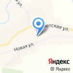Сетовская средняя общеобразовательная школа на карте Бийска