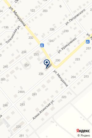 МАГАЗИН № 12 ТОПКИНСКОЕ ПОТРЕБИТЕЛЬСКОЕ ОБЩЕСТВО на карте Топков