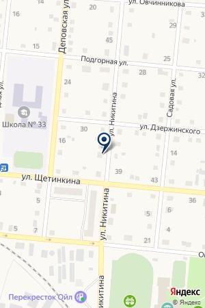 ЛОКОМОТИВНОЕ ДЕПО ТАЙГА на карте Тайги
