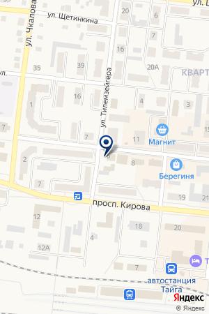 МАГАЗИН ДЕМАКС на карте Тайги