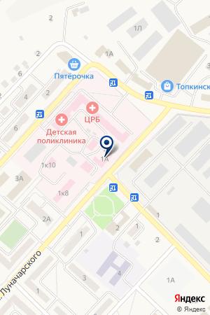 АПТЕКИ КУЗБАССА на карте Топков