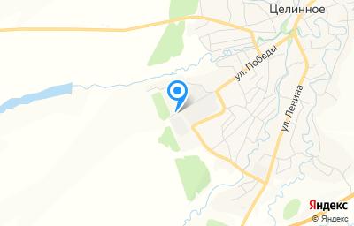 Местоположение на карте пункта техосмотра по адресу Алтайский край, с Целинное, ул Победы, влд 31