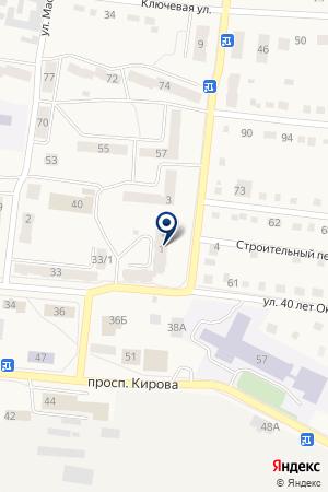 АВТОЛИДЕР на карте Тайги