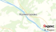 Отели города Колмогорово на карте