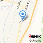 Михайловна на карте Шебалино