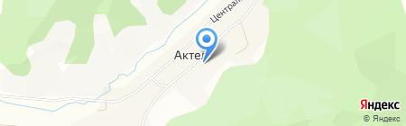 Администрация Актельского сельского поселения на карте Актела