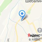 Ольга на карте Шебалино