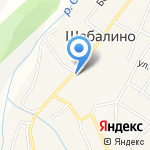 Краеведческий музей Шебалинского района на карте Шебалино